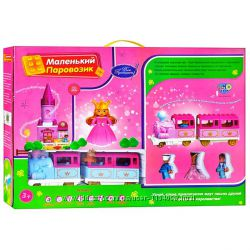 Конструктор железная дорога 0444 6288А Волшебное путешествие Принцессы 83 д