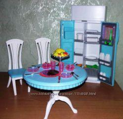 Кукольная мебель Глория Gloria 2812 современная столовая гостинная - холоди