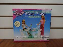 Кукольная мебель Глория Gloria 2811 Стильная столовая