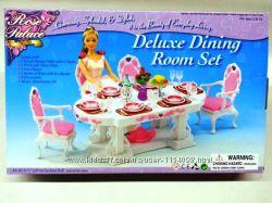 Кукольная мебель Глория Gloria 2612 Столовая классическая