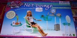 Кукольная мебель Глория Gloria 2818 Крутой кабинет офис Леди