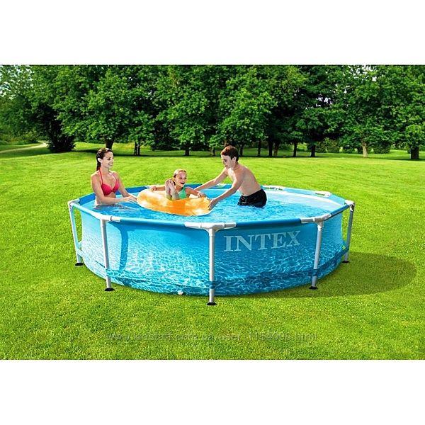 Каркасний басейн Intex 28208, 305 x 76 см фільтр насос 1 250 л / ч
