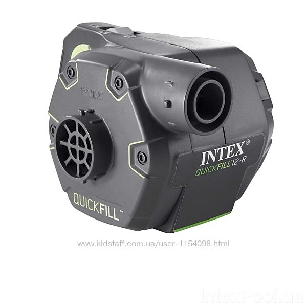 Електричний насос для надування Intex 66642 акумуляторний, що перезаряджаєт