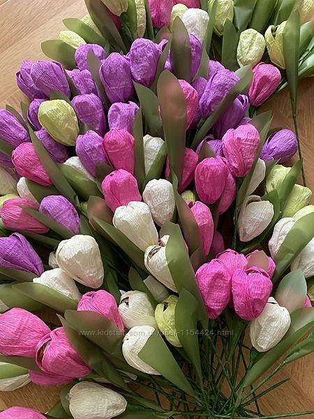 Букет с конфет, цветы с конфетами, подарунок на 8 березня, 8 Марта квіти