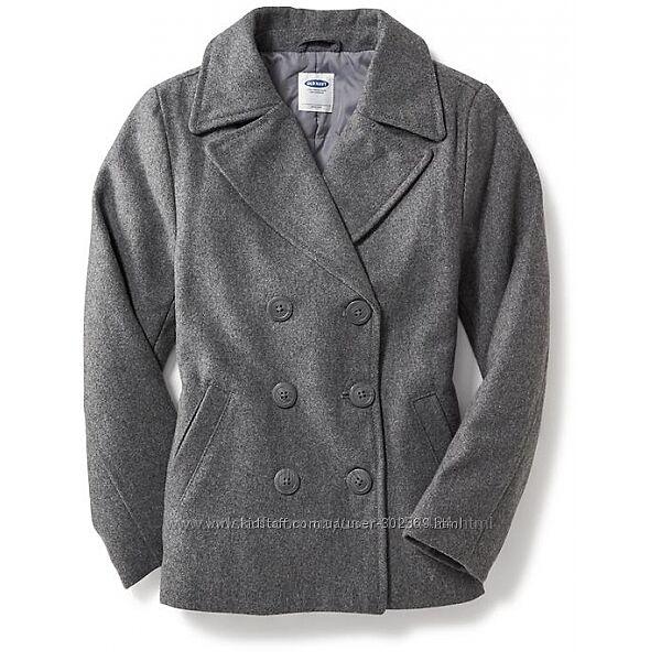 Пальто Old Navy  Размер М/8 128-134 Цвет HEATHER GREY