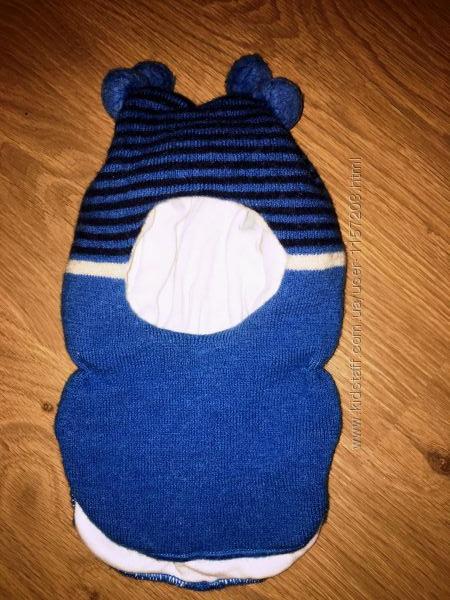 Зимняя шапка-шлем lenne р. 50