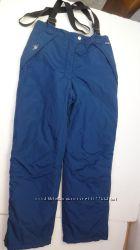 Итальянские лыжные штаны с подтяжками. 48-50 размер