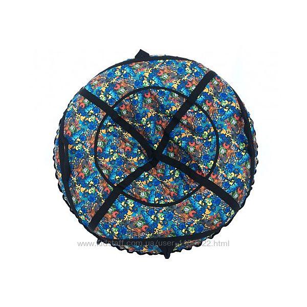 Тюбинг, надувные санки ватрушка, 1 метр, большой выбор