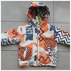 Демисезонная куртка парка для мальчика 74 -110 р.