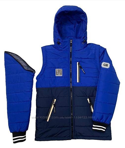 Куртка-Жилетка для подростка демисезонная 134-170 р.