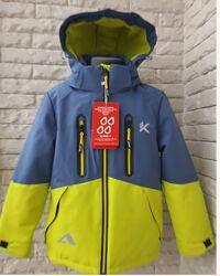 Демисезонная куртка для мальчика reime 116-140 р.