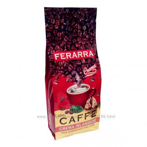Кофе в зернах Ferarra ирландский крем 1 кг