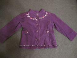 Стильный пиджак для девочки на 3 года