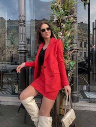 Костюм женский юбка жакет  новинка