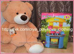 Детская кухня Ева с посудой KINDERWAY 04-405