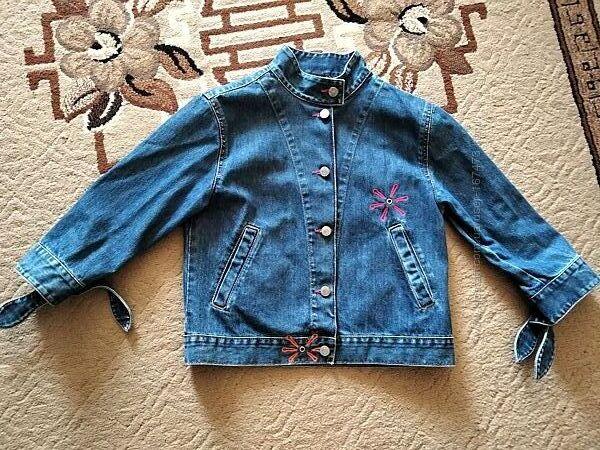 Піджак джинсовий для дівчинки