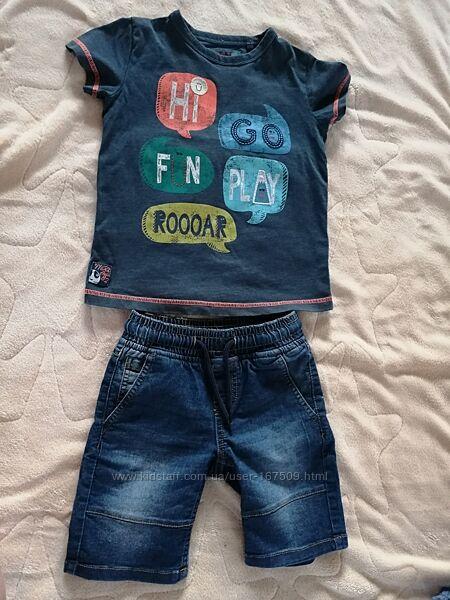 футболка Next для хлопчика 4-5 років