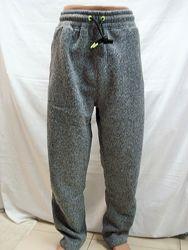 Штаны мужские T&C cпортивные, тёплые, пояс на резинке 3XL,4XL,5XL,6XL,7XL