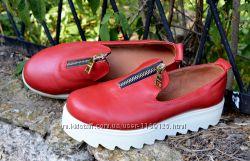 Туфли мокасины 38 р