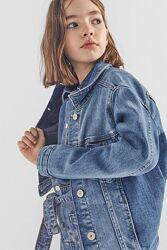 Джинсовка Zara 116-122 джинсовая куртка курточка Zara Зара