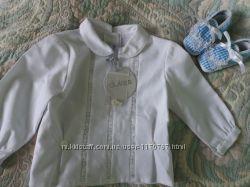 Рубашка блуза на девочку Dulces 3-6 мес.