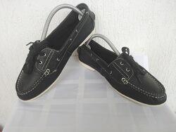 Кожанние туфли, топсайдери, мокасини Roberto Santi Active  р.39
