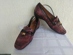 Туфли, мокасини кожанние Van Dal р.41