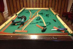 Бильярдные столы - перетяжка, сборка, ремонт.
