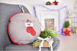 Подушка - игрушка новогодняя