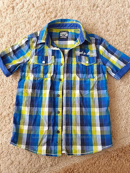 Сорочка рубашка короткий рукав