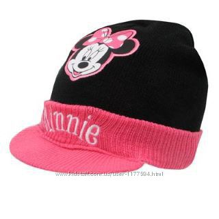Стильная шапочка с minnie mouse минни маус 3-5 лет