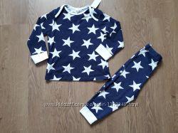 Пижама темно синяя M&co . Супер качество