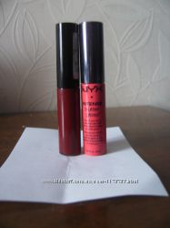 NYX никс  яркий блеск жидкая помада бу 2 шт