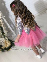 Шикарное платье Галлограмма в ассортименте от производителя 92-152