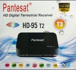 Цифровой ресивер тюнер Т2 Pantesat UKC HD-95 T2
