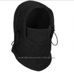 Балаклава подшлемник шапка тёплая флисовая бафф