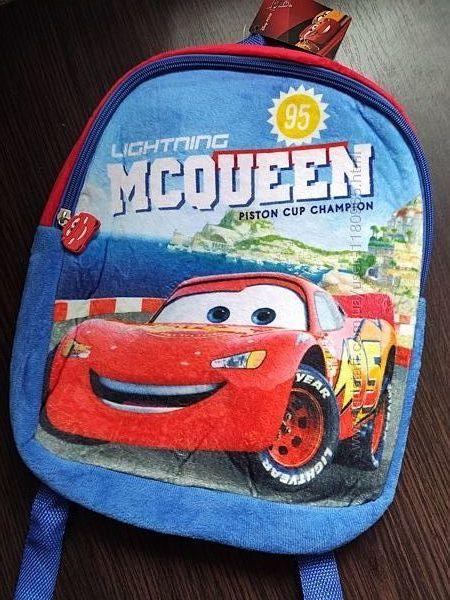 Детский рюкзак Тачки Маквин молния Миньены
