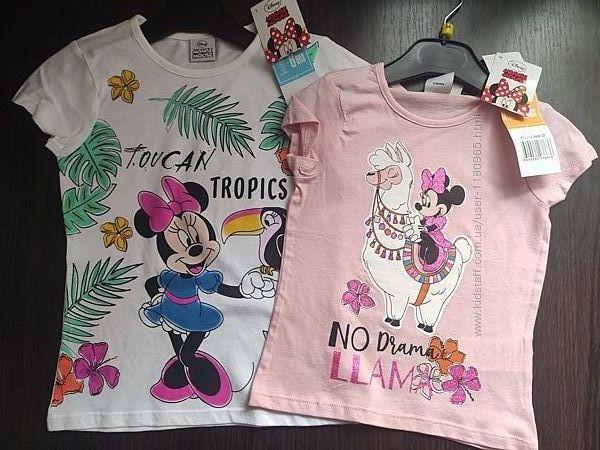 Детская футболка Минни маус Эльза Литл Пони