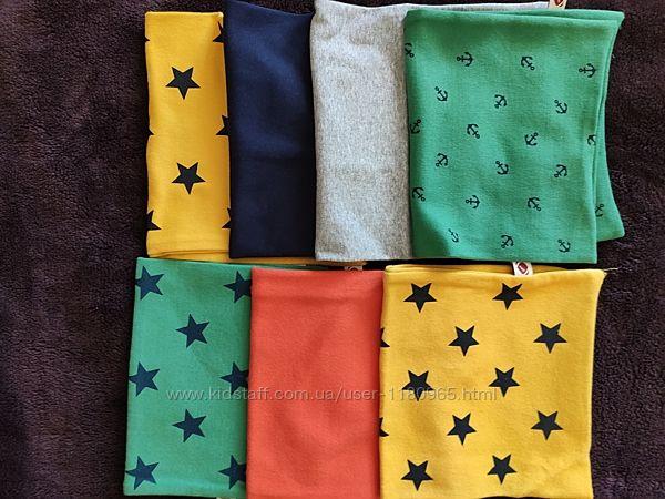 Детский хомут яркий стильный разные цвета шарф