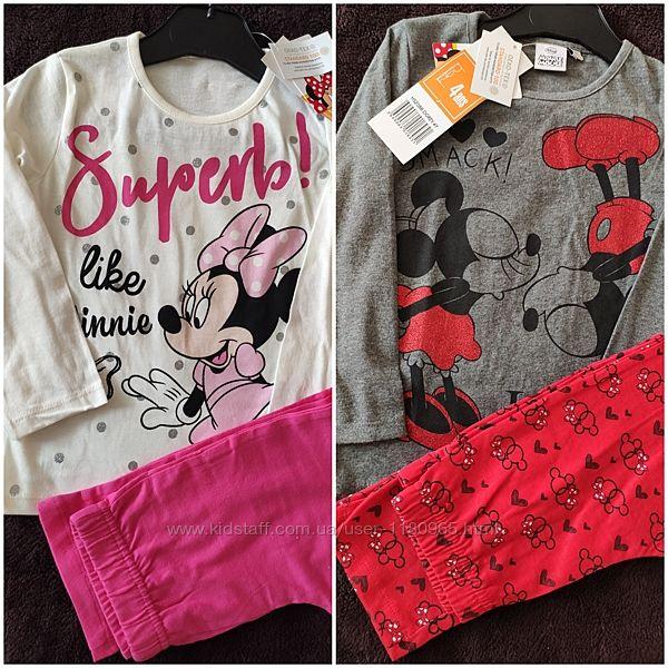 Детская пижама Минни маус Minne Mouse Эльза Леди баг Disney