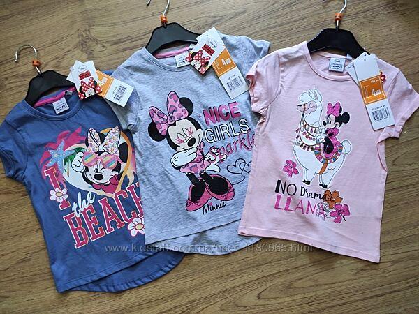 Детская футболка Минни маус Minne Mouse Эльза Холодное сердце Скай