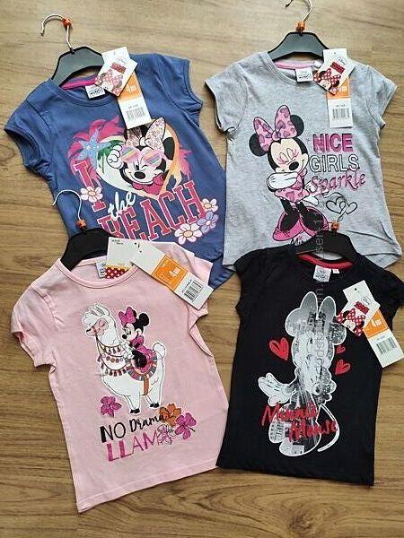 Детская футболка Минни маус Minne Mouse Else Скай свинка пепа Анна пони