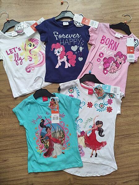 Детская футболка my little Pony Пони Елена Авалор Эльза Анна