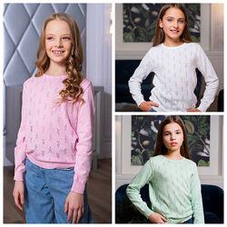 Свитер для девочек. 3 цвета. Размеры 128-152