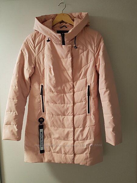 Демисезонная удлиненная курточка
