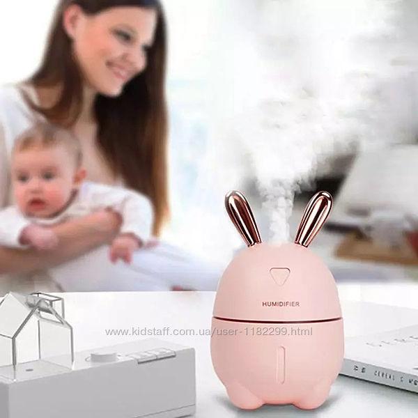 Мини увлажнитель-ночник Rabbit. Увлажнитель воздуха-лампа