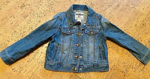 Джинсовая курточка на 4 года
