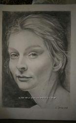 Портреты на заказ Полтава А2, А3, А4