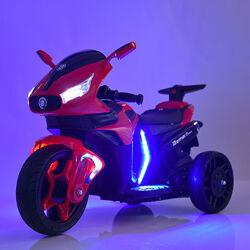 Электро мотоцикл 3965EL детский на аккумуляторе с подсветкой