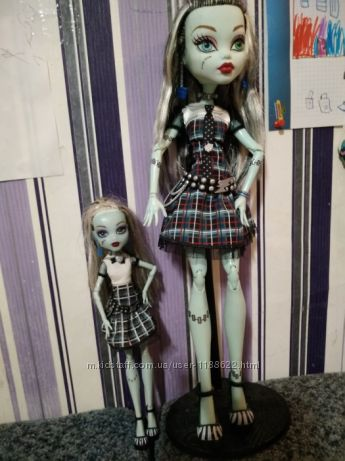 Кукла Monster high Frankie она живая